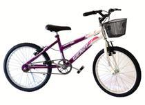 Bicicleta aro 20 fem wendy mtb convencional viol -