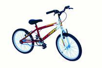 Bicicleta aro 20 masc mtb wendy convencional vermelho -