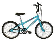 Bicicleta Aro 20 Masculina Infantil Cross Freestyle Azul Bebê - Dalannio Bike