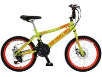 Bicicleta Aro 20 Mountain Bike Colli Skill Boy - Freio a Disco 21 Marchas