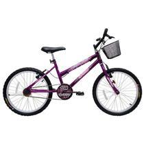 Bicicleta aro 20 mtb star girl 310154 cairu / roxa - Jbsystem