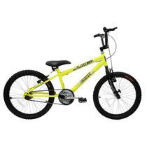 Bicicleta aro 20 unissex mtb flash boy 317266 cairu / amarelo/neon - Jbsystem