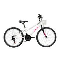 ebcd47f7c Bicicleta Aro 24 - 21 Marchas Ceci Branca - Caloi