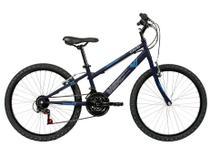 Bicicleta Aro 24 Caloi 2021 MAX T13R24V21 Aço - Freio V-Brake 21 Marchas