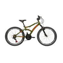 Bicicleta Aro 24 Caloi 21 Marchas Max Front Lazer -