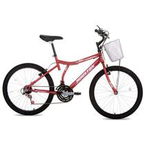 Bicicleta Aro 24 com Selim Full Bike RVS Bristol Peak-Houston -
