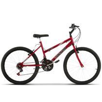Bicicleta Aro 24 Feminina 18 Marchas Ultra Bikes -