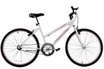Bicicleta Aro 24 Feminina Dalannio Bike Dalia Sem Marcha Branca -