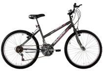 Bicicleta Aro 24 Feminina Dalia 18 Marchas Grafite - Dalannio Bike