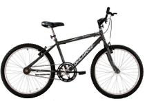 Bicicleta Aro 24 Masculina Stroll Sem Marchas Grafite - Dalannio Bike