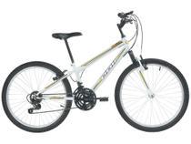 Bicicleta Aro 24 Mountain Bike Polimet Delta - Freio V-Brake 18 Marchas