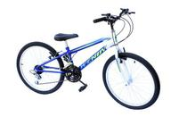 Bicicleta aro 24 wendy masc 18m convencional azul -
