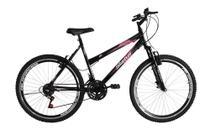 Bicicleta Aro 26 18 Marchas Status Belissima c/ Suspensão Dianteira - Status Bike