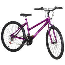 Bicicleta Aro 26 18 Marchas Ultra Bikes Feminina Lilas BMF26-01LI - Pro Tork