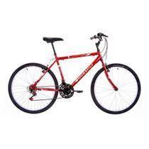 """Bicicleta Aro 26"""" 21 Marchas Foxer Hammer Houston Vermelho - Bike do nordeste s/a - filial"""