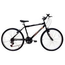 Bicicleta aro 26 / 21 marchas masculina flash mtb 310919 cairo / preta - Jbsystem