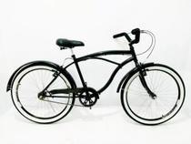 Bicicleta Aro 26 Beach Caiçara Roda Aero -