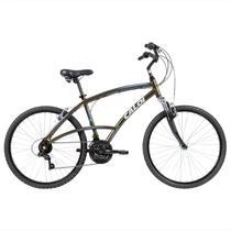 Bicicleta Aro 26 Caloi 400 21 Marchas Freios V-Brake Alumínio Verde -