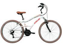 Bicicleta Aro 26 Caloi A17 400 Freio V-Brake - 21 Marchas Câmbio Shimano