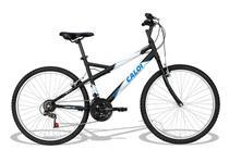 Bicicleta aro 26 caloi montana 21 marchas v-brake mountain bike -