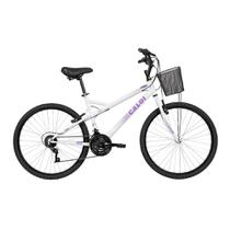 Bicicleta Aro 26 - Caloi Ventura - Branco - Caloi -