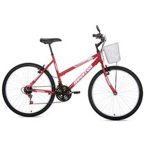 Bicicleta Aro 26 com Freios V-Brake Foxer Maori-Houston