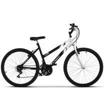 Bicicleta Aro 26 Feminina Bicolor 18 Marchas Aço Carbono Ultra Bikes -