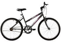 Bicicleta Aro 26 Feminina Dalia Sem Marcha Grafite - Dalannio Bike - Dal'Annio Bike