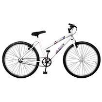 Bicicleta Aro 26 Feminina Feline Branco - Master Bike -