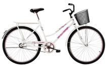 Bicicleta Aro 26 Feminina Freio no Pé CP Classic Branca - Dal'Annio Bike