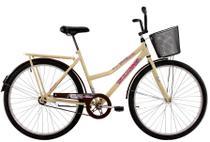 Bicicleta Aro 26 Feminina Freio no Pé CP Classic New Bege - Dal'Annio Bike