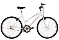 Bicicleta Aro 26 Feminina Life Sem Marcha Branca - Dalannio Bike - Dal'Annio Bike