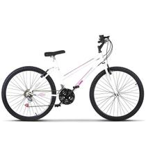 Bicicleta Aro 26 Feminino Aço Carbono Freio V Break Ultra Bikes -