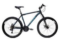 Bicicleta Aro 26 Freios a Disco Soul Black Rain 21v -