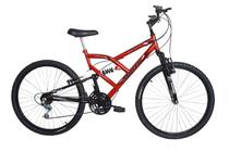 Bicicleta aro 26 Full suspension 18 marchas South Bike