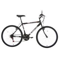 Bicicleta Aro 26 Houston Foxer Hammer 21 Marchas Preta -