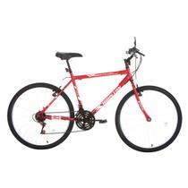 Bicicleta Aro 26 Houston Foxer Hammer 21 Marchas Vermerlho Sun Red -