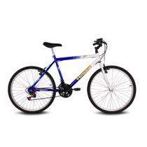 Bicicleta aro 26 live branco e azul verden bikes -