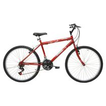 Bicicleta Aro 26 Masculina 21 Marchas Flash Pop Bike - Cairu -