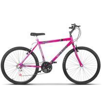 Bicicleta Aro 26 Masculina Chrome Line 18 Marchas Aço Carbono Ultra Bikes -