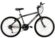 Bicicleta Aro 26 Masculina Stroll 18 Marchas Grafite - Dalannio Bike -