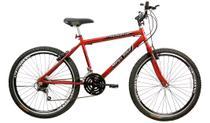 Bicicleta Aro 26 Masculino 21M Sport Aero Gold Vermelho - Mega Bike