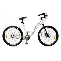 Bicicleta aro 26 Master Bike Urbis Freio à Disco 3 V Nexus Branco -