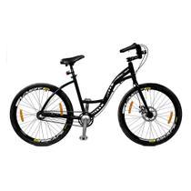 Bicicleta aro 26 Master Bike Urbis Freio à Disco 3 V Nexus Preto -