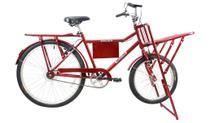 Bicicleta Aro 26 Mega Carga V.B Vermelho - Mega Bike