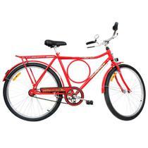 Bicicleta Aro 26 Monark Freio Varão Barra Circular 52937-4 -