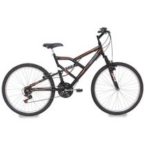 Bicicleta Aro 26 Mormaii Full FA 240 Suspension 18 Marchas - Mormaii bic