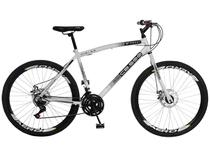 Bicicleta Aro 26 Mountain Bike Colli CB 500 - Freio a Disco 21 Marchas