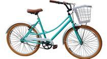 Bicicleta Aro 26 Retro Vintage com Cestinha Food Bike Unissex - Route Bike