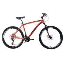 Bicicleta Aro 26 Stone Bike Equinox 21 Marchas Freio A Disco Laranja - Stone Bikes